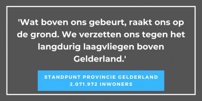 standpunt prov Gelderland
