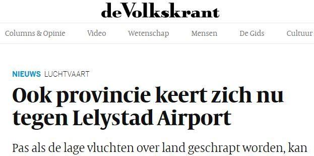 standpunt provincie gelderland